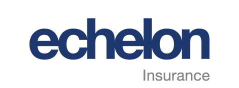 Echelon Collector Car Insurance Logo in Blue